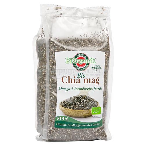 BiOrganik Bio Chiamag, Fekete, 500 g