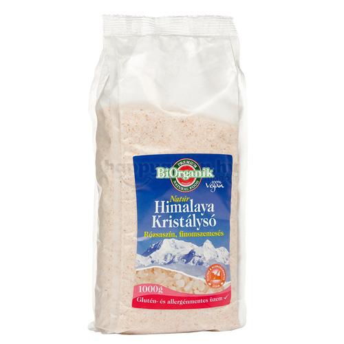 BiOrganik Himalaya Kristálysó, Finom, 1000 g