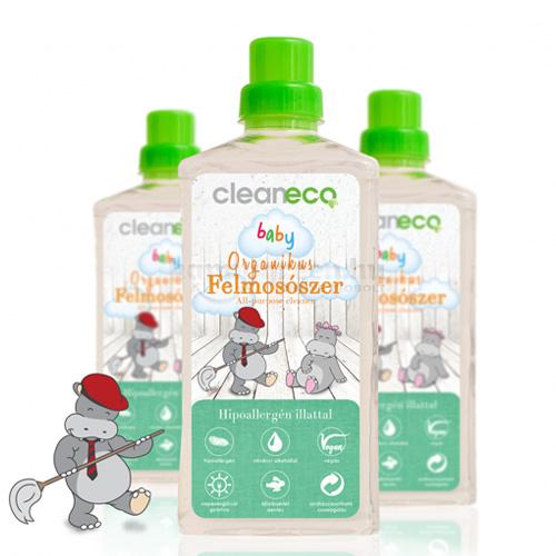 Cleaneco Baby Organikus Felmosószer, 1000 ml