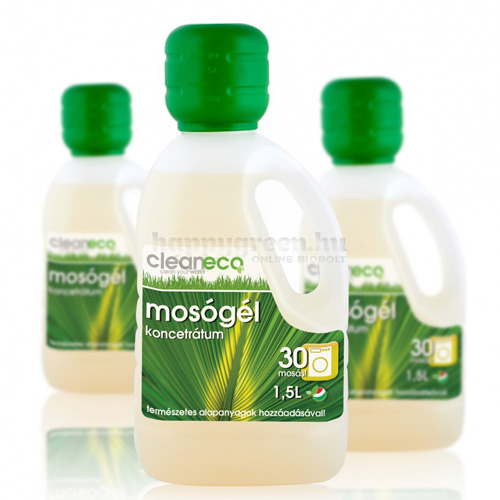 Cleaneco Folyékony Mosógél Koncentrátum, 1500 ml