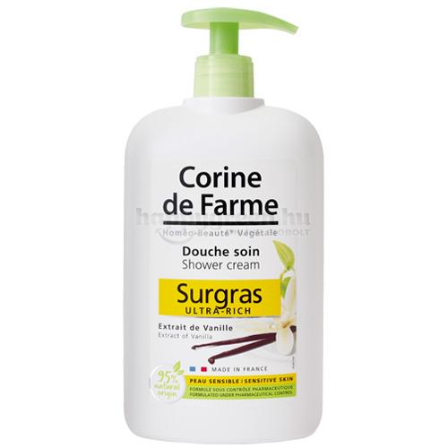 Corine de Farme Pumpás Tusfürdő Vaníliakivonattal, 750 ml