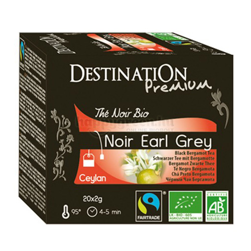 DES 20 Destination Earl Grey Fekete Tea