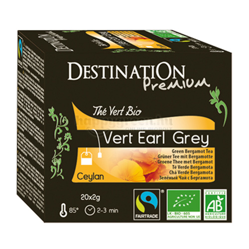 DES 20 Destination Earl Grey Zöld Tea