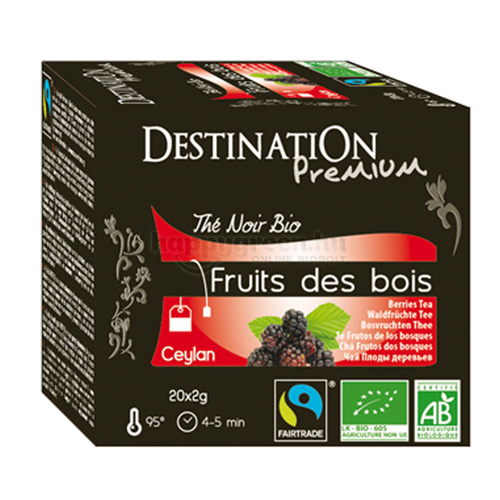 DES 20 Destination Erdei Gyümölcsös Fekete Tea