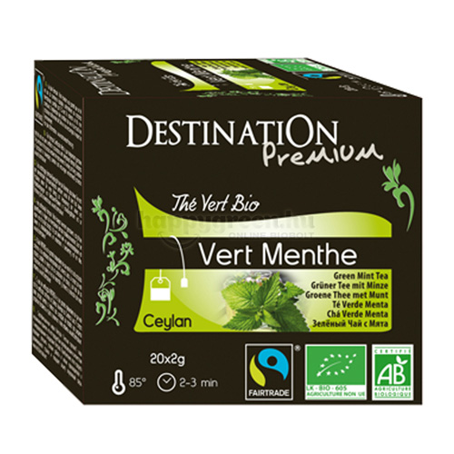 DES 20 Destination Mentás Zöld Tea
