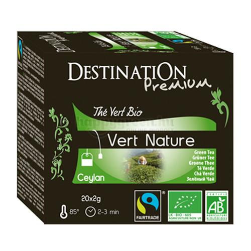 DES 20 Destination Natúr Zöld Tea