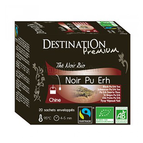 DES 20 Destination Pu Erh Fekete Tea