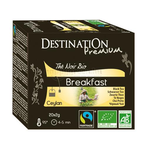 DES 20 Destination Reggeli Fekete Tea