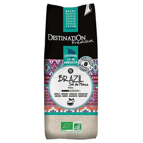Destination Brasil sul de Minas Bio Őrölt Filteres Kávé, 250 g
