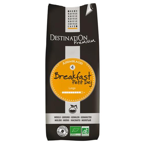 Destination Breakfast Bio Őrölt Filteres Kávé, 250 g
