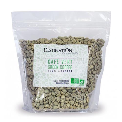Destination Café Vert Bio Zöld Szemes Kávé, 500 g