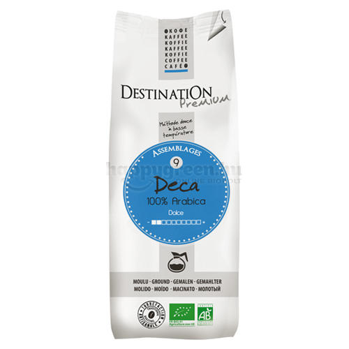 Destination Deca Bio Őrölt Filteres Kávé, 250 g