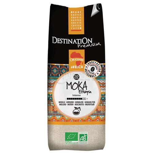 Destination Moka Ethiopia Bio Őrölt Filteres Kávé, 250 g