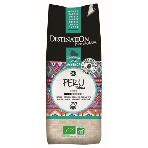 Destination Peru Paloma Bio Őrölt Filteres Kávé, 250 g
