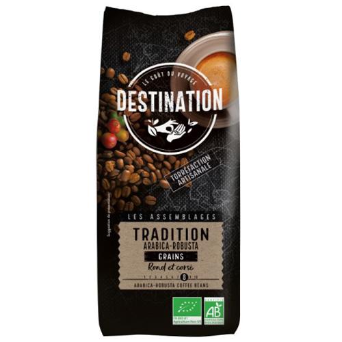 Destination Tradition Bio Szemes Kávé, 1000 g