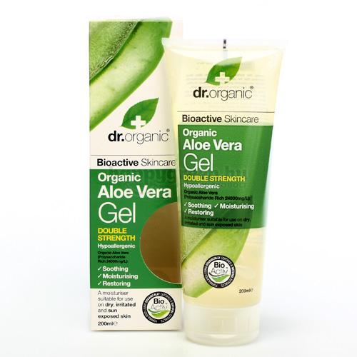Dr.Organic Aloe Vera Gél, 200 ml