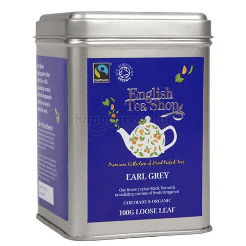 ETS 100 g English Tea Shop Szálas Earl Grey Tea
