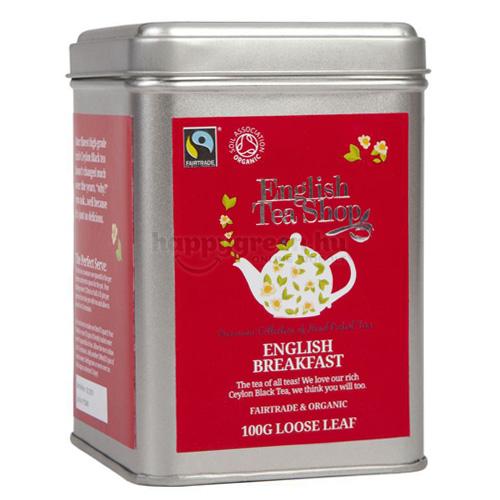 ETS 100 g English Tea Shop Szálas English Breakfast Tea