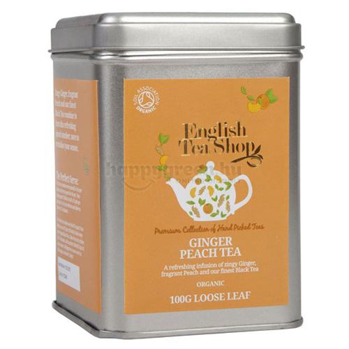 ETS 100 g English Tea Shop Szálas Gyömbéres Baracktea