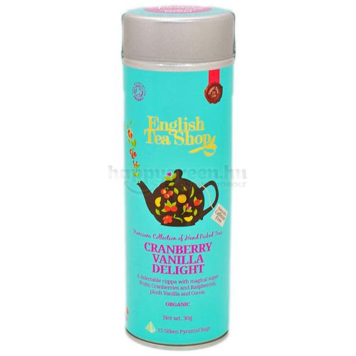 ETS 15 English Tea Shop Áfonya-Vanília Csoda Tea