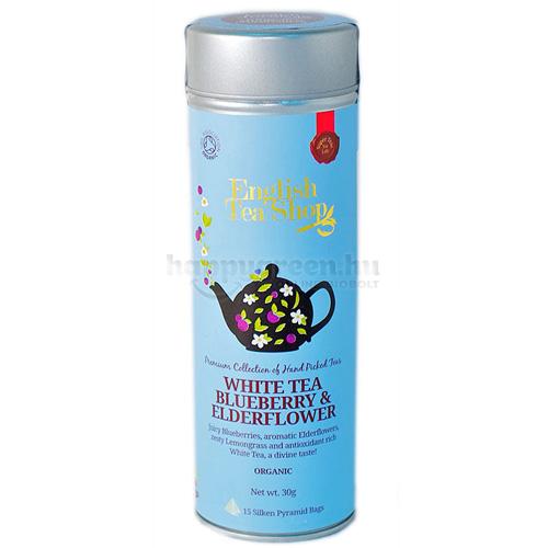 ETS 15 English Tea Shop Áfonyás-Bodzás Fehér Tea
