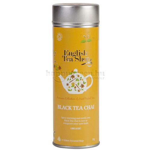 ETS 15 English Tea Shop Chai Fekete Tea