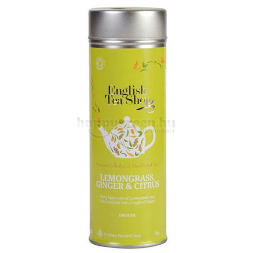 ETS 15 English Tea Shop Citromfű Tea Gyömbérrel és Citrusokkal