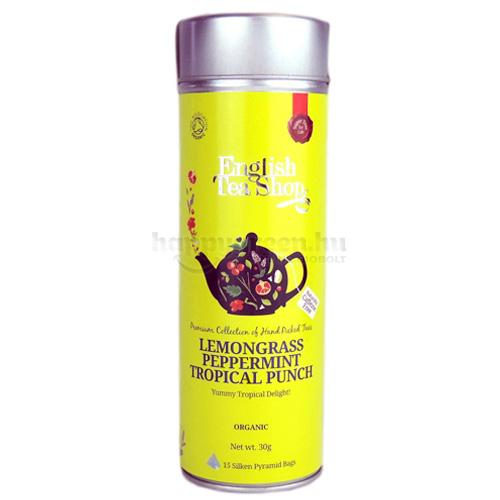 ETS 15 English Tea Shop Citromfüves-Borsmentás Trópusi Puncs Tea