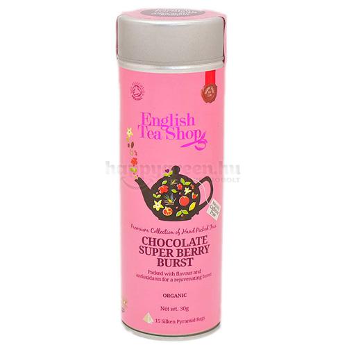 ETS 15 English Tea Shop Csokoládés-Szuperbogyós Ízbomba Tea