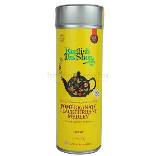 ETS 15 English Tea Shop Gránátalma-Feketeribizli Mix Tea