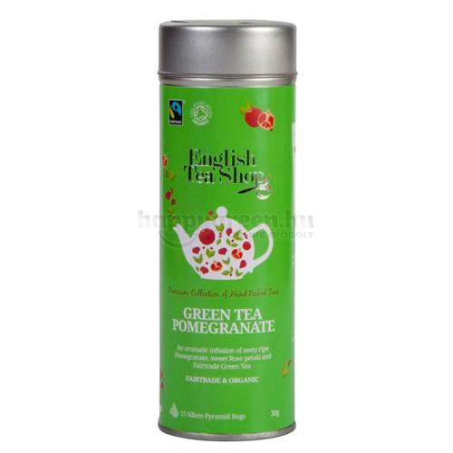 ETS 15 English Tea Shop Gránátalmás Zöld Tea