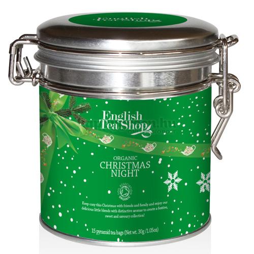 ETS 15 English Tea Shop Karácsonyi Éj Tea Fémdobozban