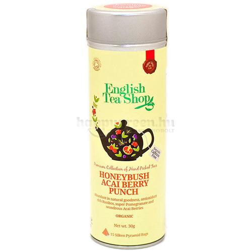 ETS 15 English Tea Shop Mézbokor Virág és Acai Bogyó Puncs Tea