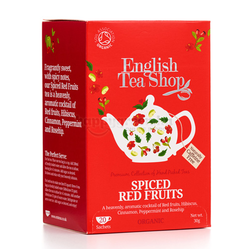 ETS 20 English Tea Shop Fűszeres Pirosgyümölcs Tea