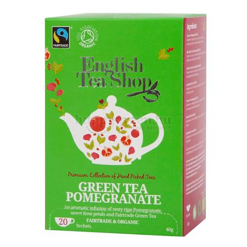 ETS 20 English Tea Shop Gránátalmás Zöld Tea