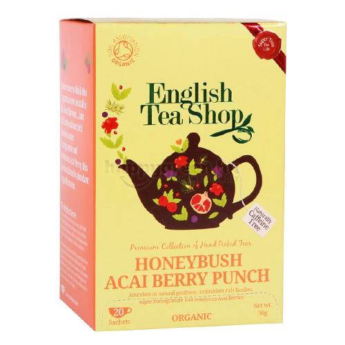 ETS 20 English Tea Shop Mézbokor Virág és Acai Bogyó Puncs Tea