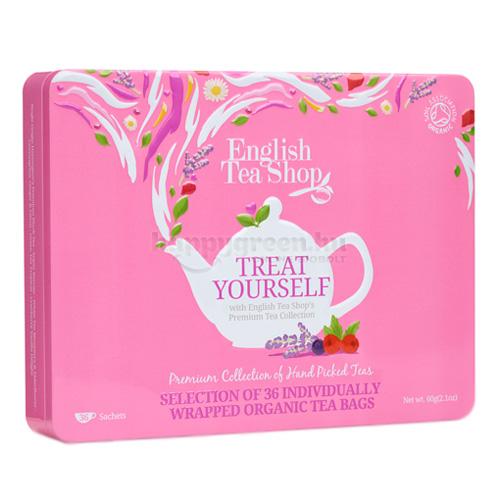 ETS 36 English Tea Shop Gyümölcsös Teaválogatás Fémdobozban
