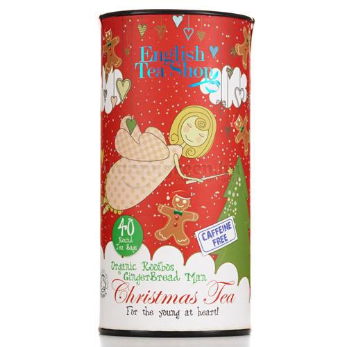 ETS 40 English Tea Shop Karácsonyi Tea, Gingerbread Man