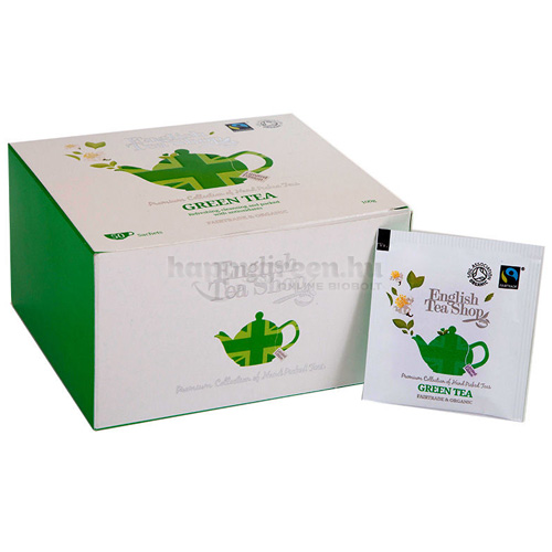 ETS 50 English Tea Shop Union Jack Zöld Tea