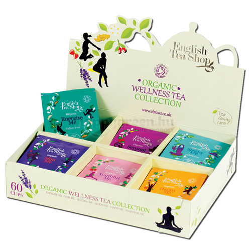 ETS 60 English Tea Shop Wellness Teaválogatás