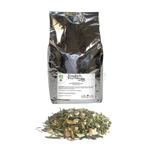 ETS 750 g English Tea Shop Szálas Citromfű Tea Gyömbérrel és Citrusokkal