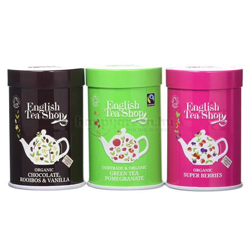 ETS 75 g English Tea Shop Szálas Prémium Teaválogatás Fémdobozban