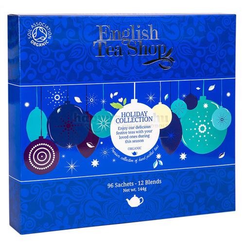 ETS 96 English Tea Shop Ünnepi Kék Gömbös Teaválogatás