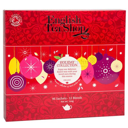 ETS 96 English Tea Shop Ünnepi Piros Gömbös Teaválogatás