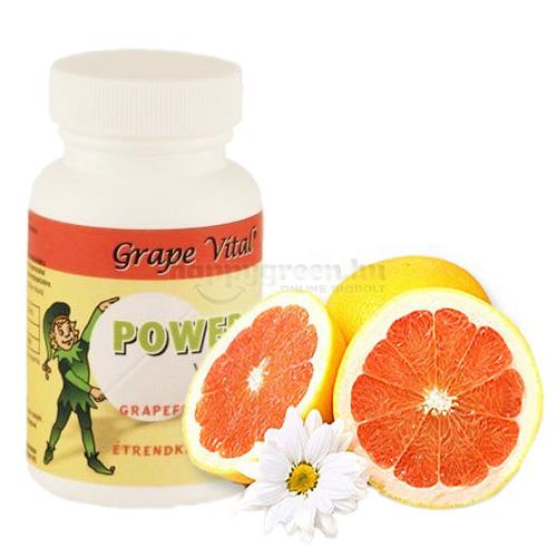 Grape Vital Power Kids Grapefruitmag Tabletta Gyerekeknek, 60 db