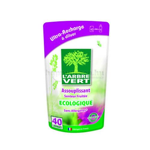 L'Arbre Vert Textilöblítő Koncentrátum Utántöltő, Gyümölcsös, 500 ml