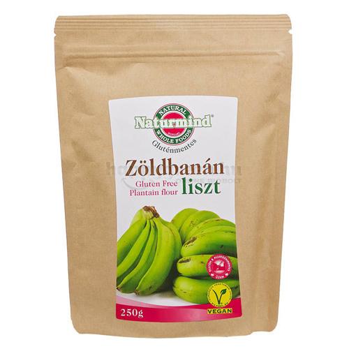 Naturmind Zöldbanánliszt, 250 g