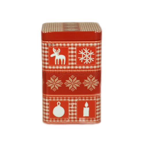 Possibilis China OP Fekete Tea Karácsonyi Fémdobozban, 100 g