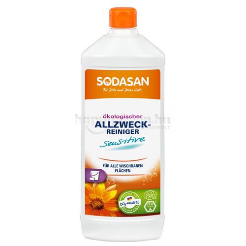 Sodasan Általános Tisztítószer, Sensitive, 1000 ml