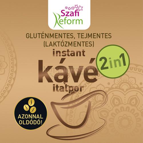 Szafi Reform 2 in 1 Instant Kávé Italpor, 180 g